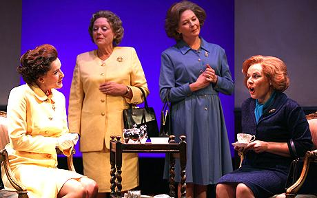 'HANDBAGGED' 'WOMEN POWER & POLITICS' SEASON THE TRICYCLE THEATRE , LONDON