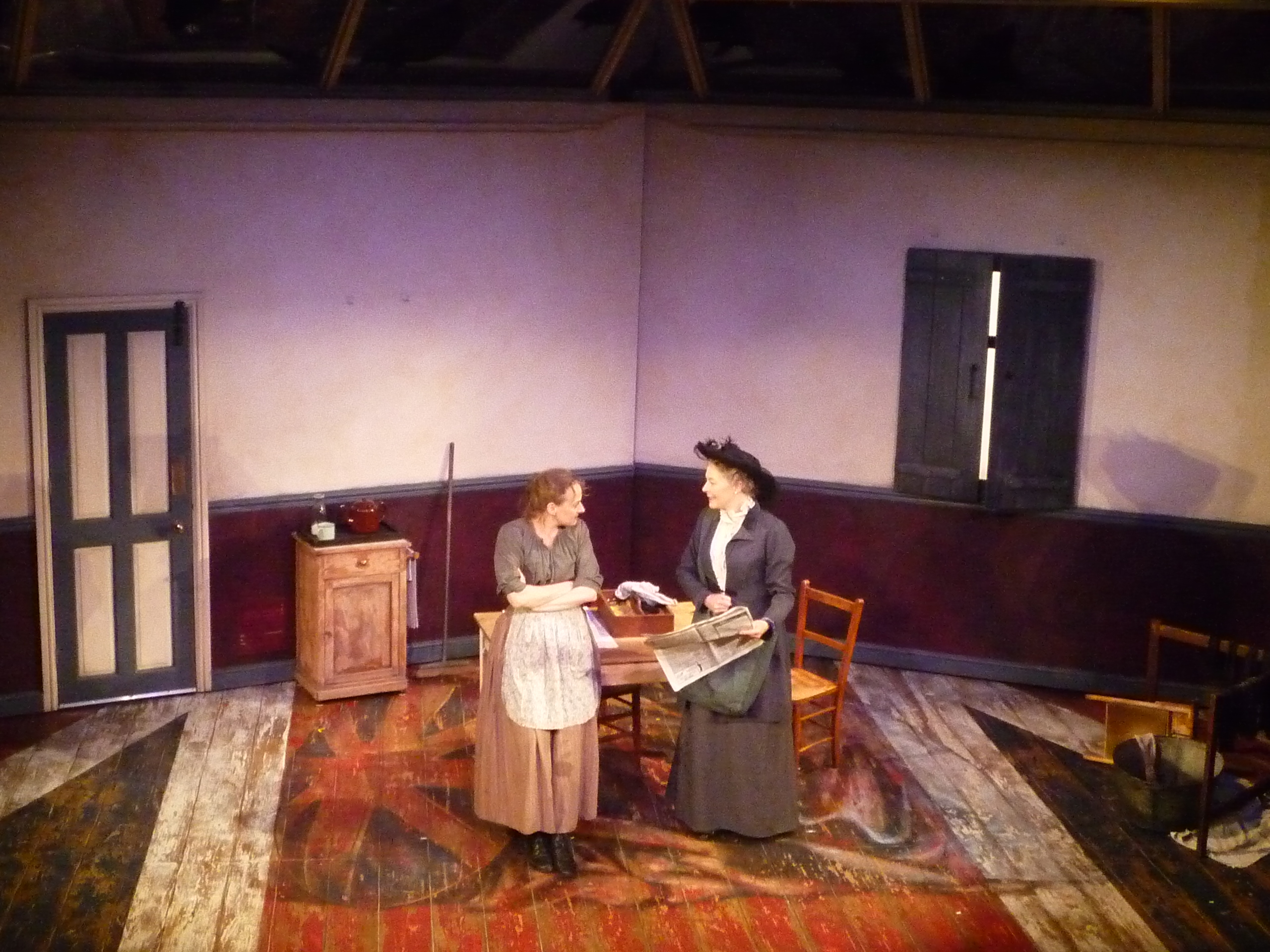 THE MILLENER & THE WEAVER WOMEN POWER AND POLITICS THE TRICYCLE THEATRE, LONDON
