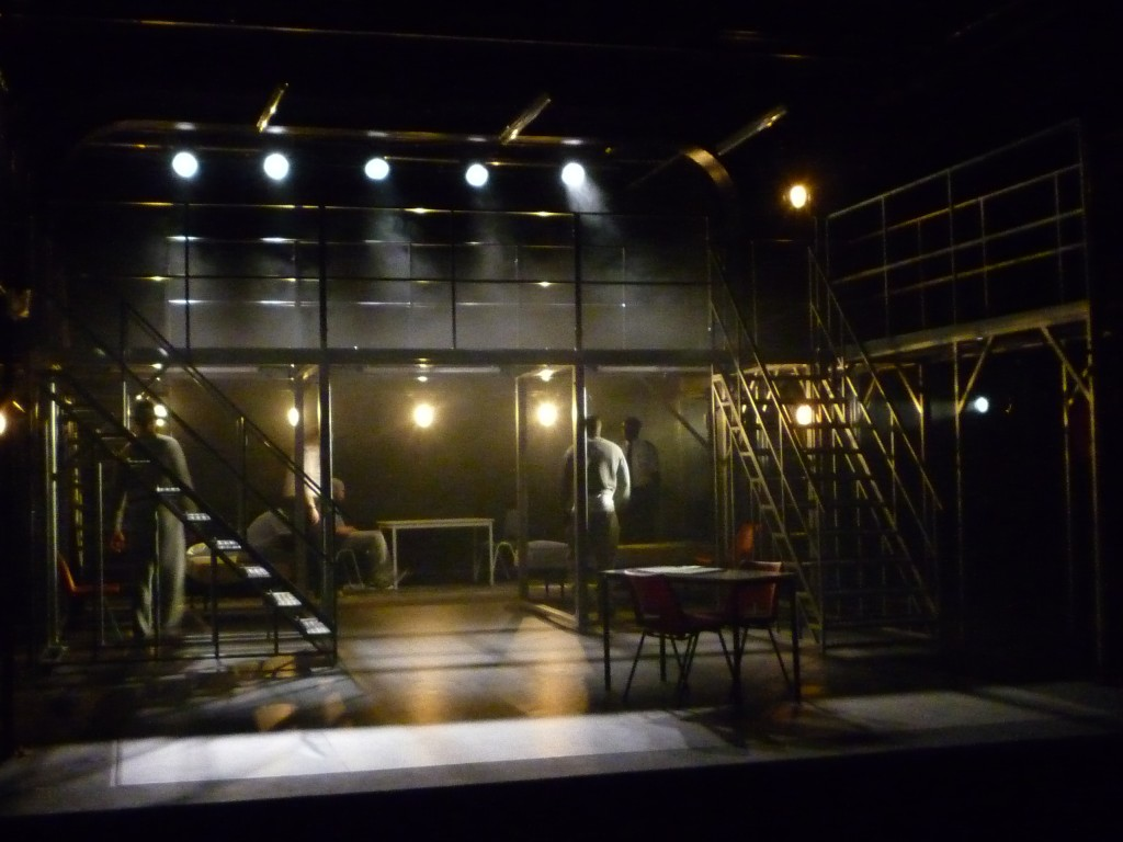 'NOT BLACK & WHITE' CATEGORY B THE TRICYCLE THEATRE LONDON